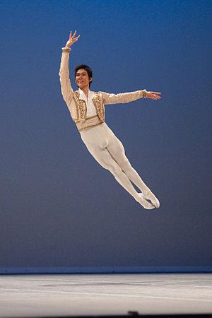 Pas de deux - Image: Tomoaki Nakanome Don Quichotte, Basile Prix de Lausanne 2010