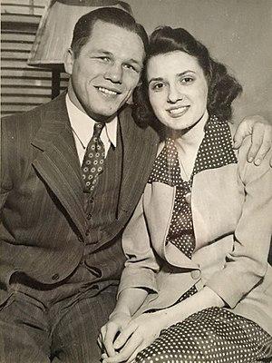 Tony Zale - Tony Zale is getting married, March 1942