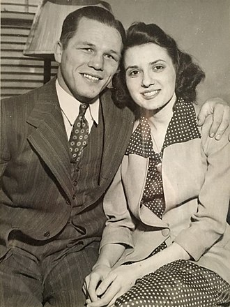 Tony Zale - Tony Zale is getting married, March 1942