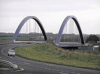 Toome - Image: Toome Bridge geograph.org.uk 78227