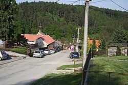 Top view of Zálesná Zhoř, Brno-Country District.jpg