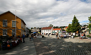 Drøbak - The Square in Drøbak