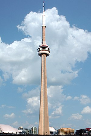 1976 in Canada - Toronto's CN Tower opens to the public
