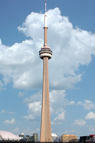 Tower - CN Tower (world's sixth tallest freestanding structure) in Toronto, Ontario, Canada