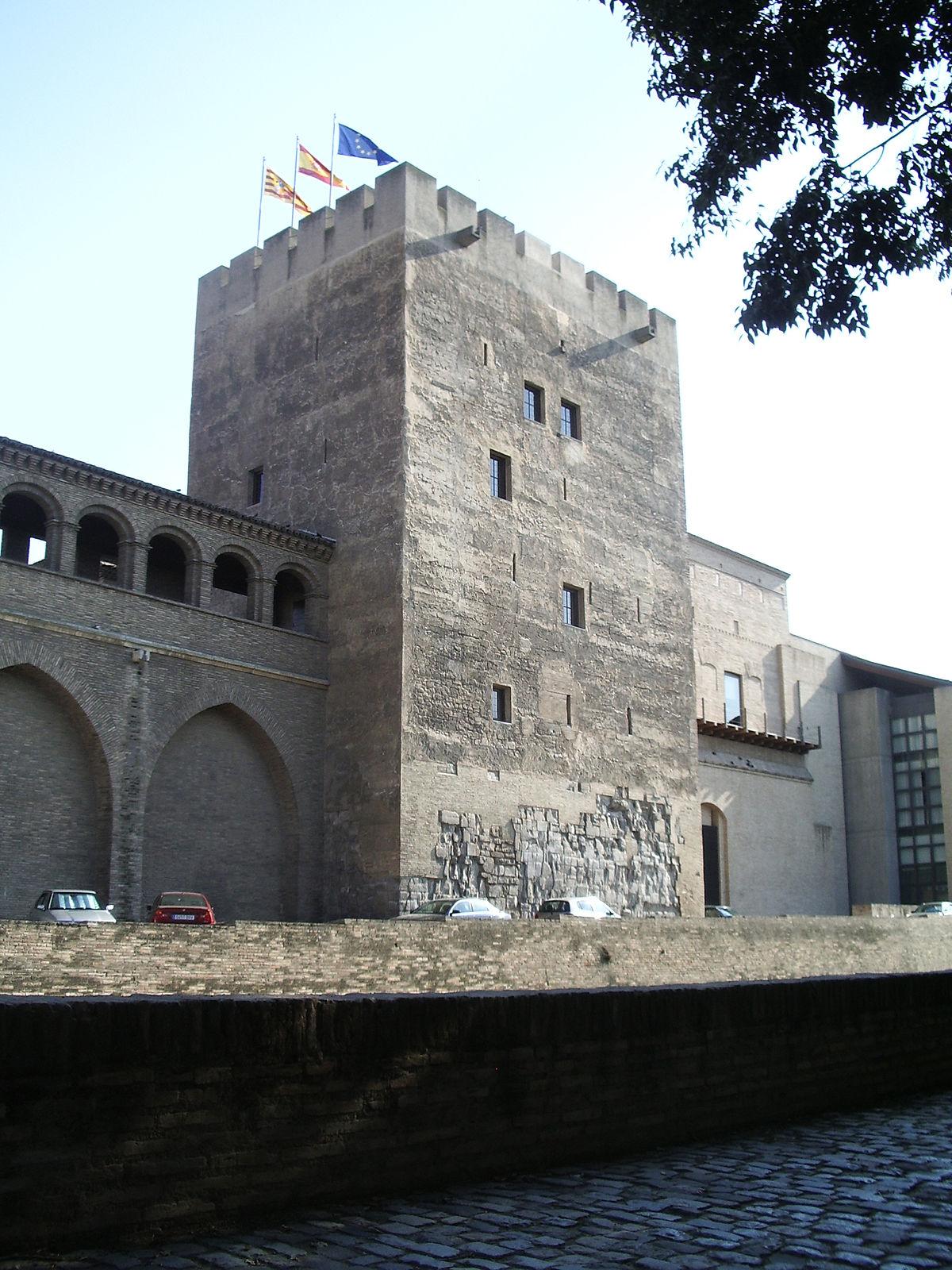 foto de Torre del Trovador (Palacio de la Aljafería) Wikipedia
