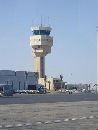 Sharm El Sheikh International Airport - Control tower at Sharm El Sheikh International Airport