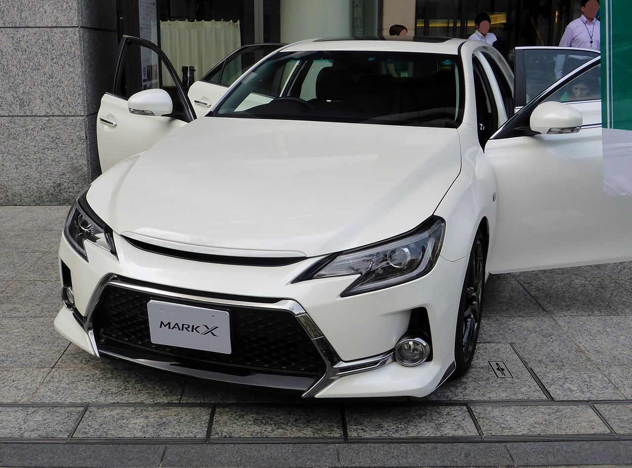 File Toyota Mark X G S X130 Front Jpg Wikimedia Commons