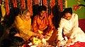 Traditional Gaye Holud of Groom in Dhaka.jpg