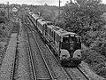 Train leaving Newbridge (Droichead Nua) - 1984 (geograph 3600672).jpg