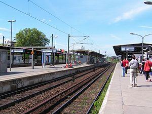 Berlin-Charlottenburg station - Platforms