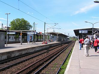 Berlin-Charlottenburg station - Platforms