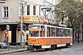 Tram in Sofia near Palace of Justice 2012 PD 012.jpg