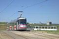 Tramo en Brno, returniĝa buklo Technologický park 1.jpg
