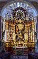 Traunkirchen - Pfarrkirche Krönung Mariens - Hochaltar 1754.jpg