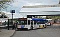 TriMet D40LFR loading at Tigard TC in 2012.jpg