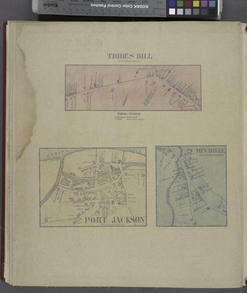 File:Tribes Hill (Village); Tribes Hill Business Directory.; Port Jackson (Village); Minaville (Village) NYPL1584215.tiff