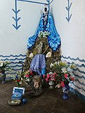 A Santería shrine in Trinidad, Cuba