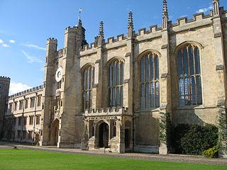 Trinity College Chapel, Cambridge Grade I listed church in the United Kingdom