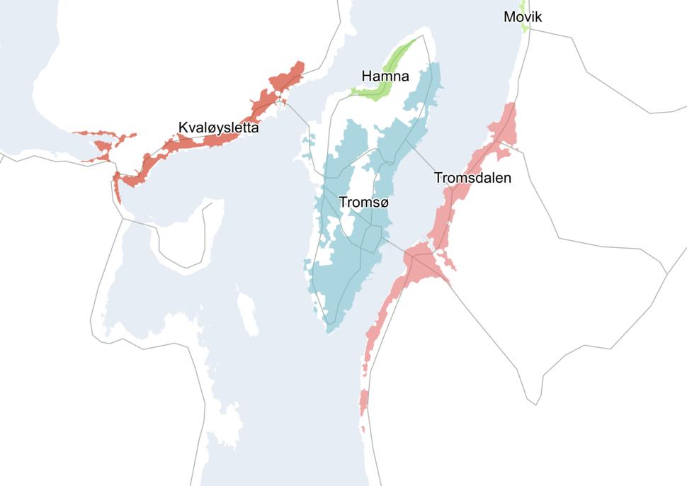 Tromsø tettsted 2015