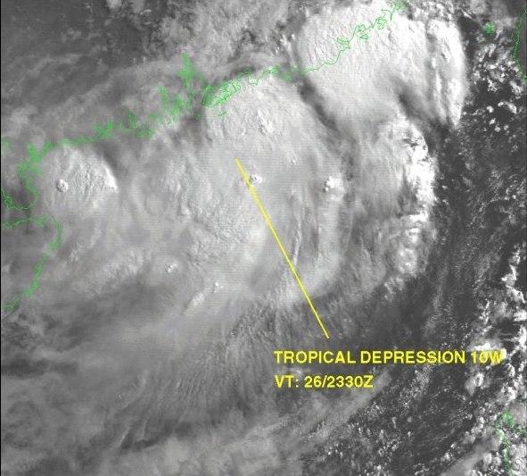 Tropical Depression 10W 1999