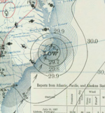 Tropical Storm One surface analysis 31 July 1937.png