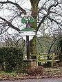 Trowse village sign - geograph.org.uk - 1670617.jpg