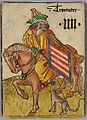 Trumpeter of Hungary, Courtly Household Cards, German, c. 1450.jpg
