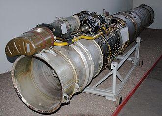 Tumansky RD-9 - Preserved Tumansky RD-9B turbojet engine