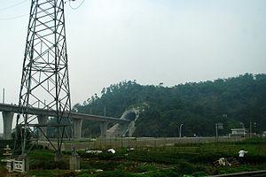 Guangzhou–Zhuhai intercity railway - Duninggang Tunnel (都宁港隧道) of Guangzhu Railway