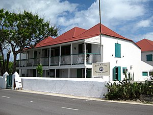 English: The Turks & Caicos National Museum is...