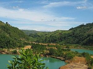 Basay, Negros Oriental - Man-made twin lagoons in Barangay Maglinao