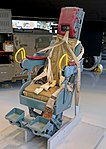 Type C-3 ejection seat from F-89 Scorpion, Glenn L. Martin Co., 1953 - Evergreen Aviation & Space Museum - McMinnville, Oregon - DSC01046.jpg