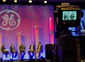 U.S. Marine Corps Sgt. Maj. Bryan B. Battaglia, on screen right, the senior enlisted adviser to the chairman of the Joint Chiefs of Staff, attends the 2013 General Electric Veterans Network Summit at the Gaylord 130523-A-HU462-037.jpg