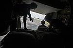 U.S. Marines transport supplies to build Ebola Treatment Units 141121-M-PA636-042.jpg