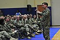 U.S. Navy Adm. Mark Ferguson, standing, the vice chief of naval operations, talks to Sailors during an all-hands call at Naval Support Activity Bahrain in Manama, Bahrain, July 30, 2013 130730-N-IZ292-045.jpg