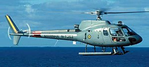 An UH-12 Esquilo (Eurocopter AS350) of the Bra...