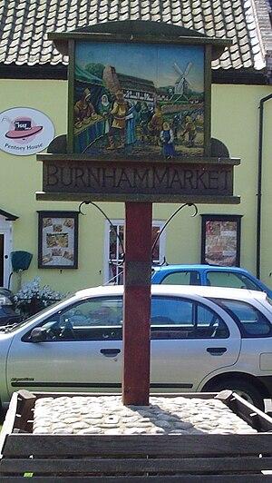 Burnham Market - Signpost in Burnham Market