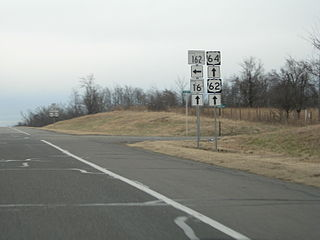 Oklahoma State Highway 162 highway in Oklahoma