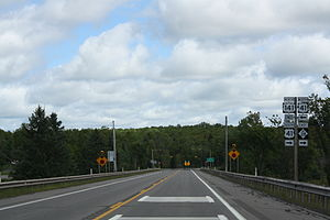 U.S. Route 141 - Northern terminus