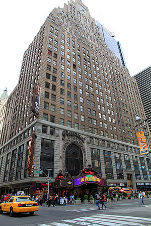 1501 Broadway - Paramount Building as seen from 7th Avenue
