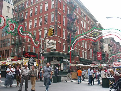 Feast of San Gennaro in New York. USA san gennaro feast NY.jpg