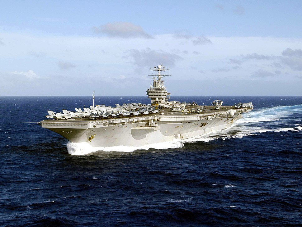 USS Abraham Lincoln (CVN-72) underway in the Western Pacific on 21 December 2004 (041221-N-1229B-066)