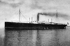 SS Dakotan - SS Dakotan prior to World War I