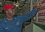 USS Iwo Jima sailor resets alarm 120428-N-OR551-010.jpg