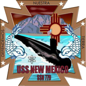 USS New Mexico (SSN-779) - Image: USS New Mexico SSN 779 Crest