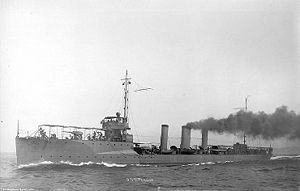 Paulding-class destroyer - Image: USS Perkins (DD 26)