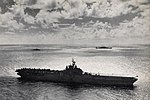 USS Philippine Sea (CV-47) underway at sea, circa in 1950.jpg
