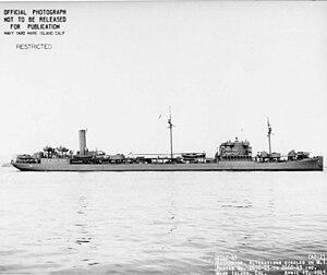 USS Ramapo (AO-12) - Image: USS Ramapo (AO 12)