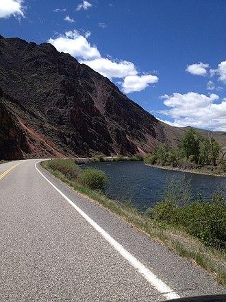 U.S. Route 93 in Idaho - Image: US 93 in Idaho