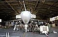 US Navy 030324-N-9693M-003 Aviation Mechanics work on an EA-6B Prowler from Electronic Attack Squadron One Thirty Two (VAQ-132).jpg